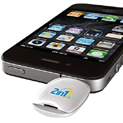 2in1 Smart Glucometer (Blood Glucose Meter) for Apple iPhone & iPad for diabetes management