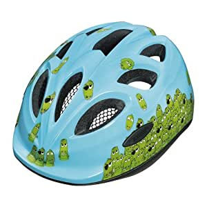 Abus Smiley Casco per bici da bambino, Multicolore (Croco family), 45-50 cm