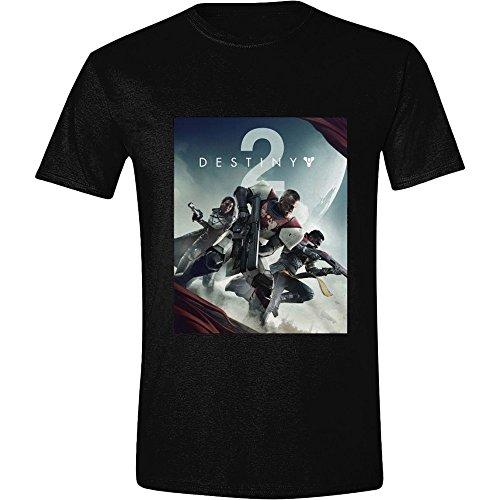 Preisvergleich Produktbild Destiny 2 - Coverartwork - T-Shirt | Schwarz aus 100 % Baumwolle, Größe:S
