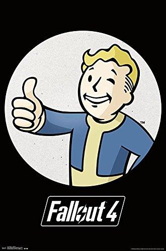 Poster Fallout 4 - Vault Boy (55,5cm x 86,5cm)