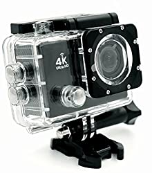Kamron KAC-52 4K Ultra HD 16MP Wifi, Waterproof Sports Action camera With Accessories