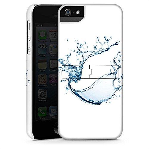 Apple iPhone X Silikon Hülle Case Schutzhülle Wasser Klecks Tropfen Premium Case StandUp