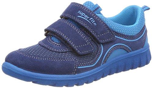 Superfit Baby Jungen SPORT7 Mini Sneaker, Blau (Water Kombi), 28 EU