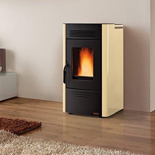 La nordica-extraflame Poêle à pellets Dorina revêtement en acier Puissance thermique nominale 6.2kW-Parchemin