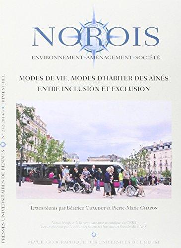 Norois, N 232-2014/3 : Modes de vie, modes d'habiter des ans : entre inclusion et exclusion