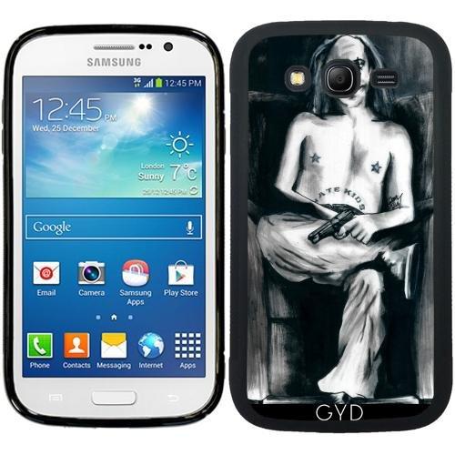 SilikonHülle für Samsung Galaxy Grand i9082 - Der Clown, Der Nicht Lustig War by (Beängstigend Clow)