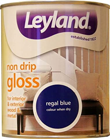 Leyland Oil Based Paint Non Drip Gloss Regal Blue