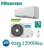 Condizionatore/Climatizzatore INVERTER 12000BTU HISENSE New Easy Smart 2017 - TE35YD02