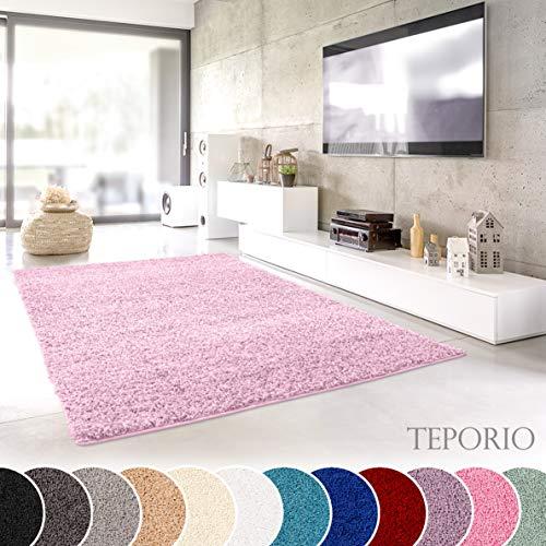 Designer-Teppich Pastell Kollektion Gold, 40 x 60 cm Schlafzimmer oder Kinderzimmer Einfarbig Esszimmer Schadstoffgepr/üft Flauschige Flachflor Teppiche f/ürs Wohnzimmer