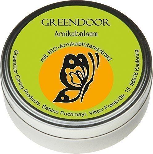 Arnikabalsam - Kraft der Natur mit BIO Arnikablüten + BIO Kakaobutter + Avocadoöl, nur echt mit dem Schmetterling, Naturkosmetik, Arnika Balsam, Arnika-Salbe, Arnika-Creme -