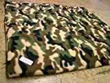 KosiPet® Luxury FLEECE Pet Dog Cat Bed Mat With Fibre Pad (LARGE, CAMOFLAGE)