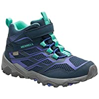 Merrell Ml-Girls Moab FST Mid a/C Wtrp High Rise Hiking Boots