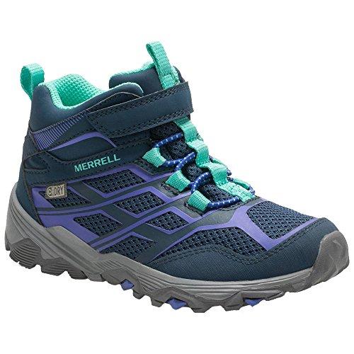 Merrell ML-Girls Moab FST Mid A/C Wtrp Chaussures de Randonnée Hautes Fille