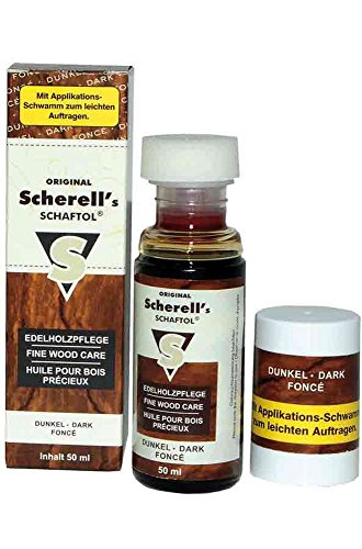 Scherell´s Original Schaftöl 50 ml Verschiedene Farben 50 ml Dunkel