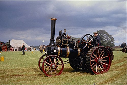 468007 1918 McLaren Traction Engine Parades At Woodton Rally A4 Photo Poster Print 10x8