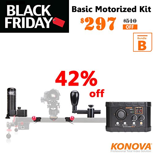 Konova Basic-Pan Tilt Motion Controller Bundle B für K5 100cm Pan Tilt Controller