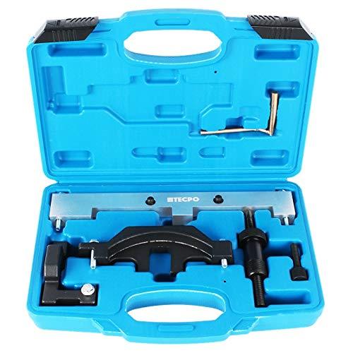 tecpo Jeu d'outils de réglage du moteur blocage Arbre à cames BMW SÉRIE 1 E81 E87 E46 E90 N40 N45