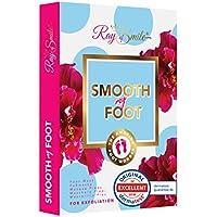 SMOOTH MY FOOT Mascarilla pies para eliminar piel muerta, mascarilla exfoliante para pies, calcetines para pies lisos después de solo una aplicación de RAY OF SMILE Premium Line