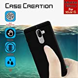 Case Creation (TM) Ultra Thin 0.3mm Black Silicone Matte Finish Black Flexible Soft TPU Slim Back Case Cover For 10.Or (Tenor) G/10.Or G/10.Org (5.5-inch) 2017 (Black Soft Case)