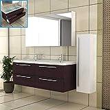 Badmöbel - Doppelbecken - Waschbeckenunterschrank - Spiegelschrank - Hochschrank - Komplettset- Badezimmer- Badset- Komplettprogramme - Waschplatz - Waschtisch
