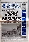 ACTION FRANCAISE (L') [No 2399] du 19/10/1995 - MAL BLANCHI PAR LA JUSTICE - JUPPE EN...