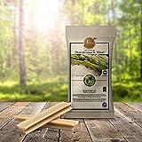 Tiera Vital Basmati Reis Snack XL mit Biotin und Rapsöl | Gesunde Hundeleckerlie vegan | Zahnpflege Kaustangen
