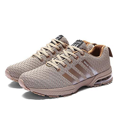 B-commerce Herren Männer Woven Camouflage Mesh Atmungsaktive Sneaker Sport Laufschuhe Schuhe Lässige Mode Patchwork Niedrige Lässige Schuhe