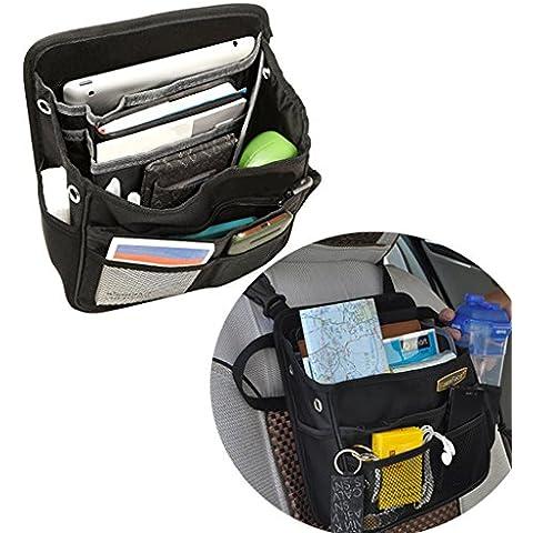 Autostyling-Borsa per bagagliaio, per auto, Van tasche organizer portaoggetti per schienale seggiolino auto Organizzatore Tidys Borsa sacchetti, in contenitore organizer per auto