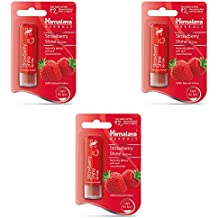 Himalaya Herbals Lip Care, Strawberry Shine, 4.5g (Pack of 3)