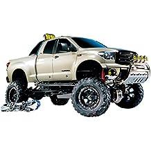 Tamiya 300058415 - Juego de construcción de maqueta de Toyota Tundra (escala: 1:10, motor eléctrico)
