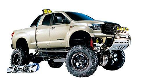 TAMIYA 300058415 - Toyota Tundra Highlift PickUp Truck, ferngesteuertes Offroad Fahrzeug, 1:10, Elektromotor, Bausatz