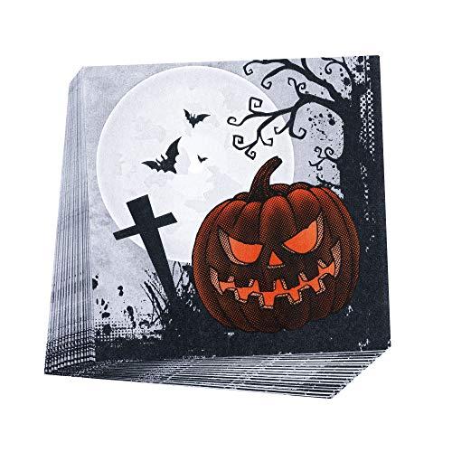 Neviti Graveyard Gathering Halloween Servietten