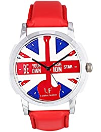 Watch Karts Analogue Red Dial Boys Watch-Lf-Red-Watch
