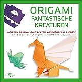 Origami für Kinder: Fantastische Kreaturen. 25 Anleitungen zum Origami Falten für Kinder inkl. Papier und 2 Bögen aus Goldmetall in einem Origami-Set. Mit praktischen Schritt-für-Schritt Anleitungen