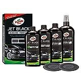 Turtle Wax 52731 Color Magic Jet Black Box Car Paint Restorer Kit Brightens