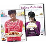 Lorraine Pascales Baking and Home Cooking Made Easy CookBook Collection Set P...
