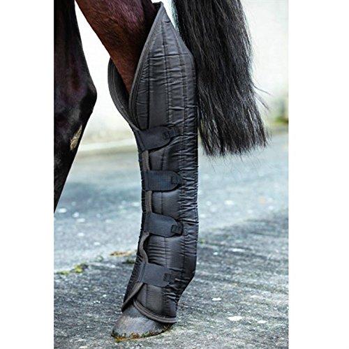Horseware Rambo Transportgamaschen Cob black