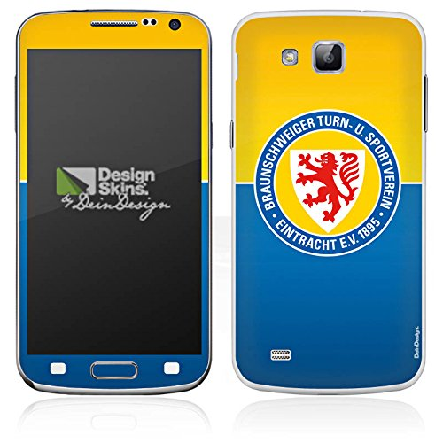 Samsung Galaxy Premiere GT (i9260) Folie Skin Sticker aus Vinyl-Folie Aufkleber Eintracht Braunschweig Fanartikel BTSV