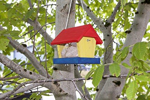 Windhager Vogelfuttersilo-Bausatz Woodpecker, beige - 5