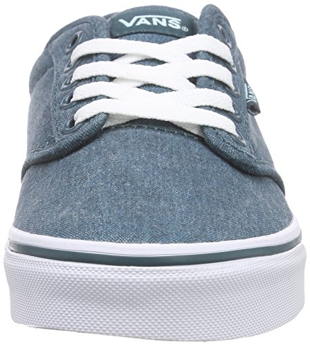 Vans Atwood Damen Sneakers Grün ((Washed Canvas) deep teal/blue tint)