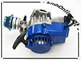 kmhOnline Pocket Bike Motor 49cc 3,5 PS mittleres Tuning (blau)