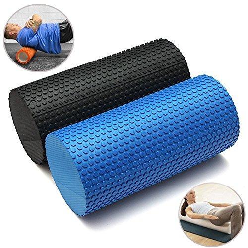 GEZICHTA Foam Roller, gesprenkelten Schaumstoffrollen für Muskeln für Physiotherapie & Übung–Roll & Stretch Tool, Physikalische Therapie, Deep Tissue Muskel Massage, Schwarz