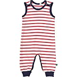 Fred's World by Green Cotton Unisex Baby Spieler Stripe Romper