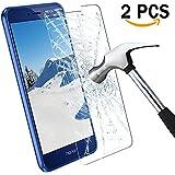 Huawei P8 Lite Protector de Pantalla, Infreecs Screen Protector Tempered glass [9H Dureza, 2.5D, 3D Touch Compatibles, Alta Definición Transparencia ] Cristal Templado para P8 Lite 2017 (2 Pack)