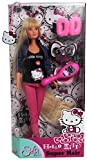 Simba Toys 105730839 - Steffi Love Puppe Hello Kitty Superhair