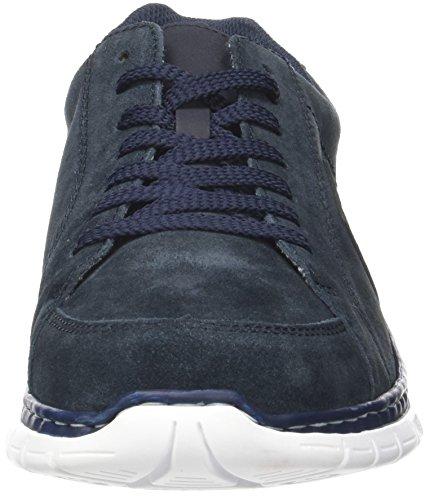 Rieker Herren B4810 Sneaker Blau (pazifik/pazifik/offwhite)