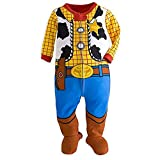 Disney Store Toy Story Woody Costume Little Boy Footed Sleeper Pajama 18-24 M
