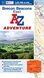 Brecon Beacons (East) Adventure Atlas (A-Z Adventure Atlas)