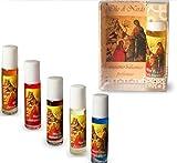 Onction Oil-Huile de Spikenard (Nard Huile) et lourdes carte de prière