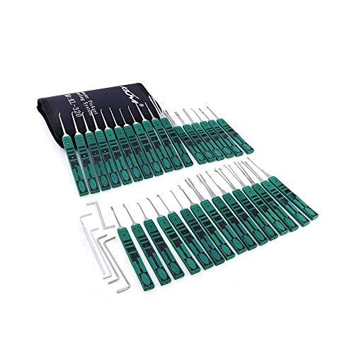 Dbh–Juego de ganzúas (Capacitación Kit con herramientas de tensión, cerrajero profesional Herramientas